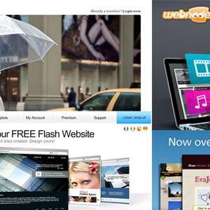 Online web builders