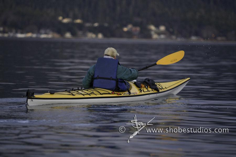 Kayak by Tim Shobe