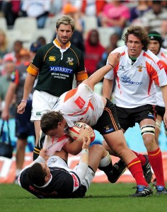 Cheetahs and the Sharks played at the Freestate Stadium in Bloemfontein South Africa on 31 July 2010 (2)