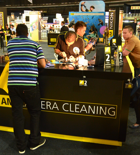 Nikon Cleaning Centre