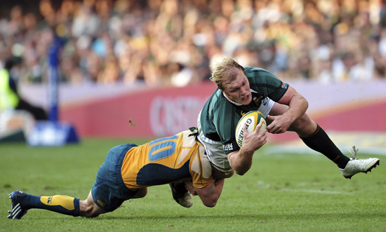 South African Rugby Player of the Year 2011 Schalk Burger